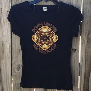 Incubus Black T Shirt size Small
